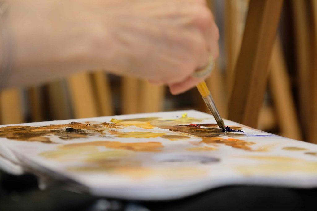 cours de dessin et de peinture à Pegomas