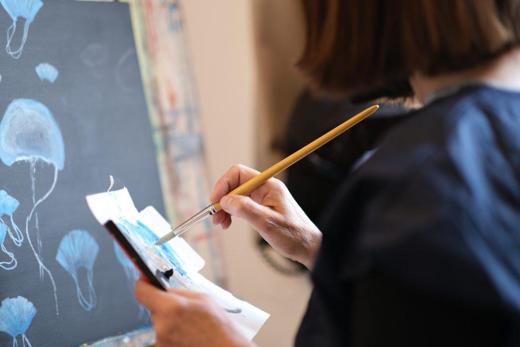cours de peintures pour adultes au Cannet