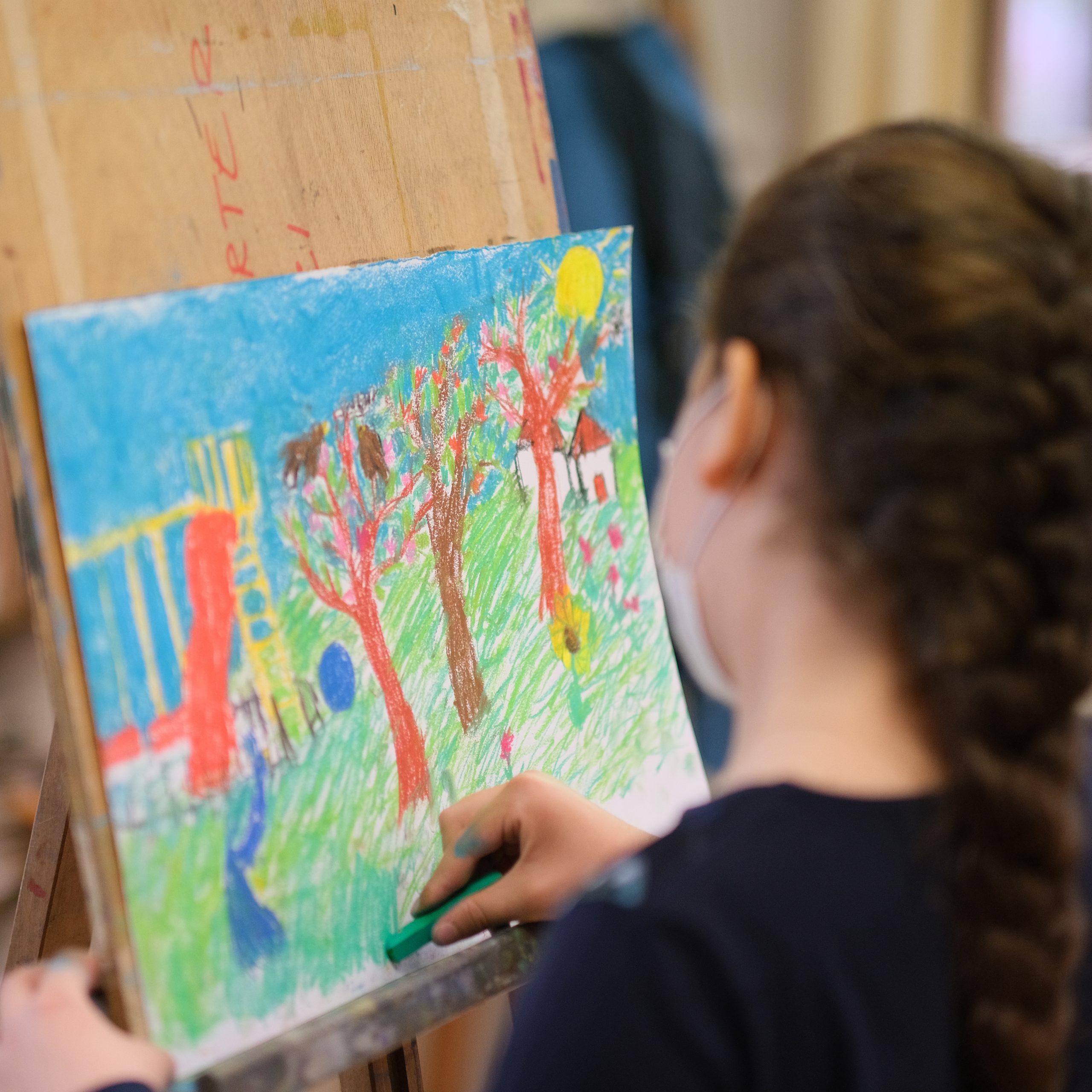 cours de dessin pour enfants à Cannes