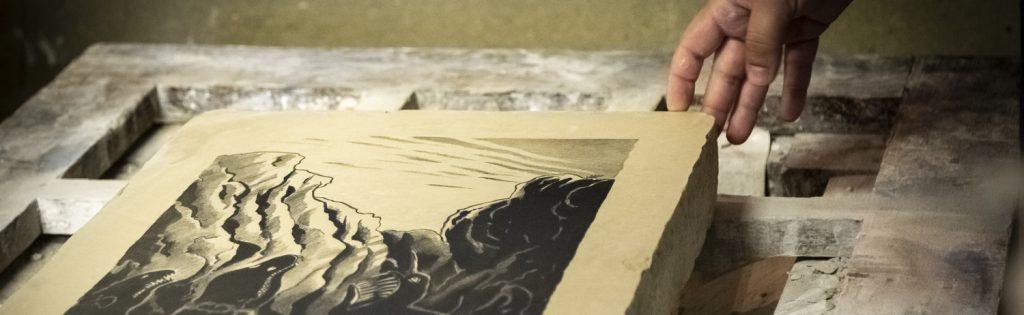 cours de lithographie à Cannes