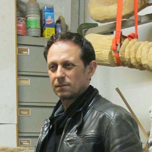 Paolo Bosi professeur aux beaux arts de Cannes