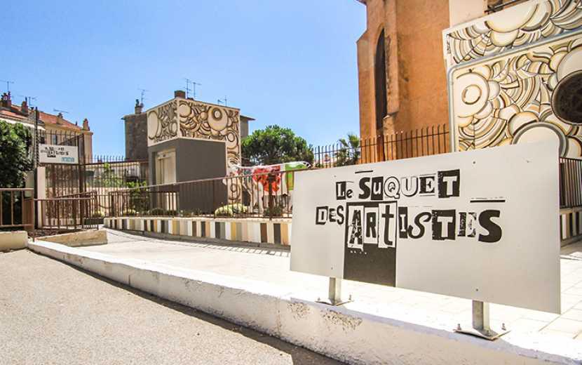 Suquet des artistes le quartier historique de Cannes