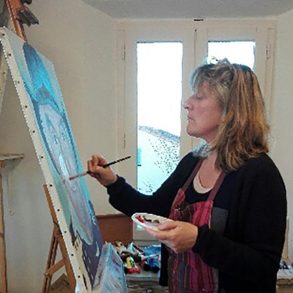 Christine Delval professeur aux beaux arts de Cannes