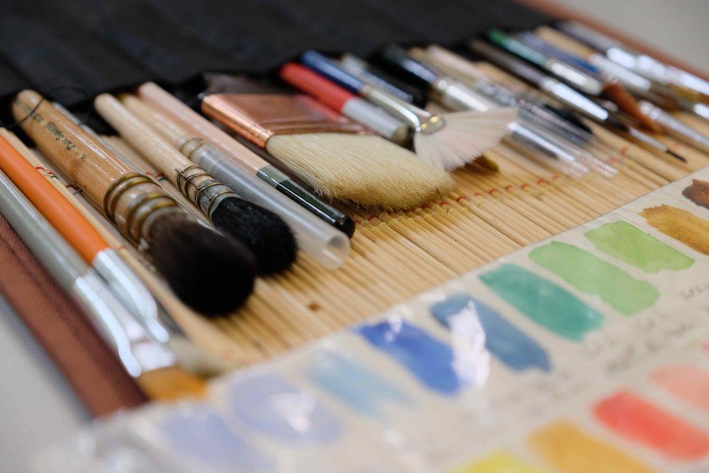 cours d'aquarelle pour adultes à Cannes
