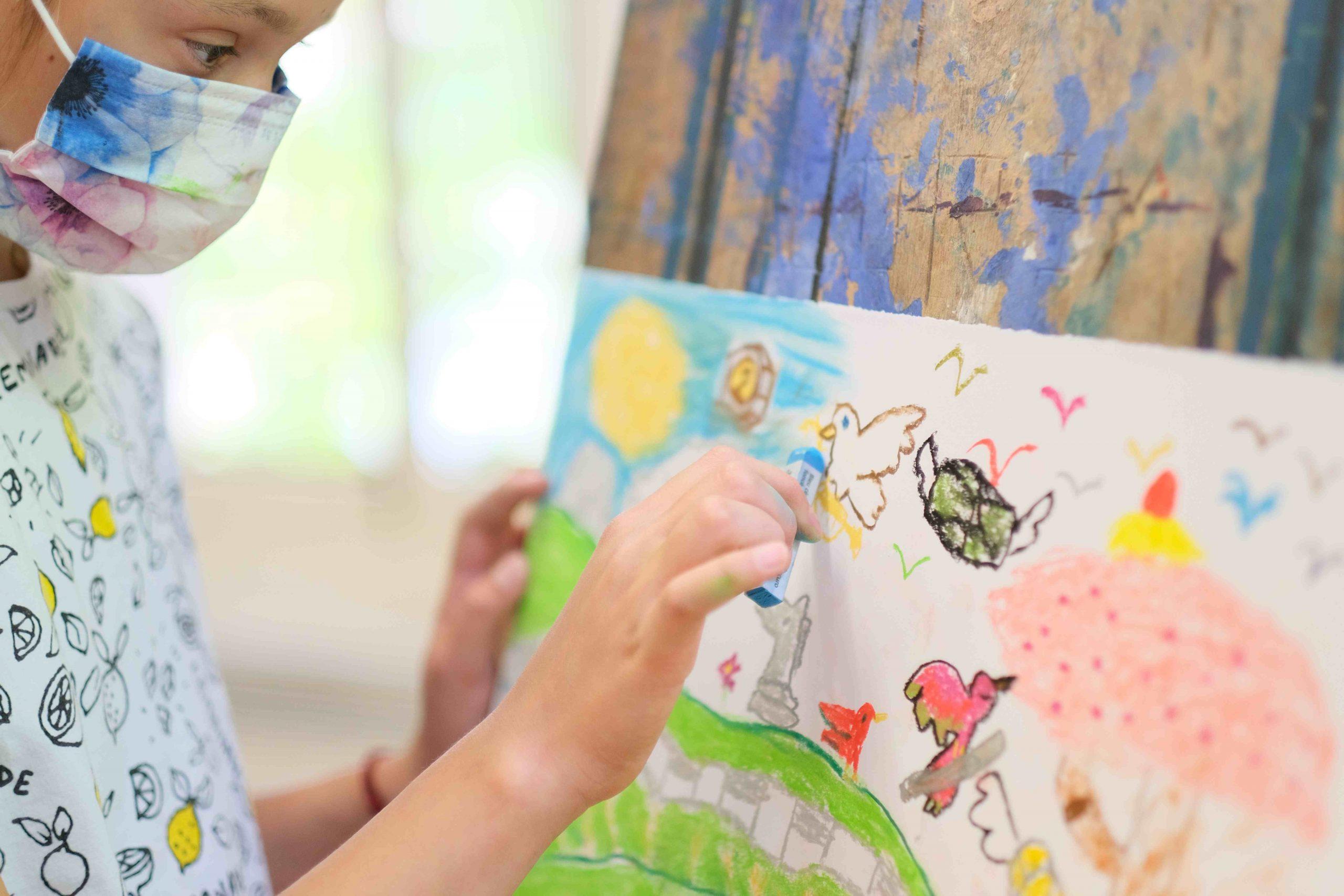 Cours de dessin pour enfant à Cannes