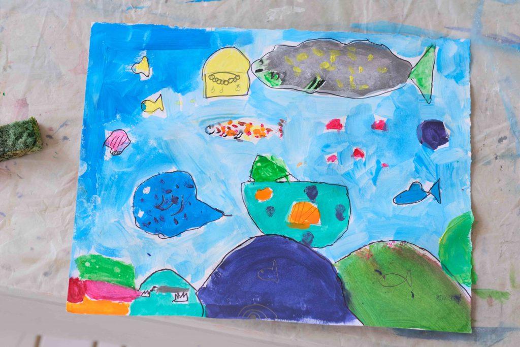 cours de dessin pour enfant à Mougins