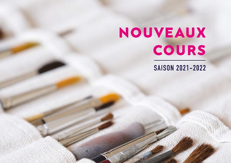 Nouveaux cours aux beaux arts de Cannes