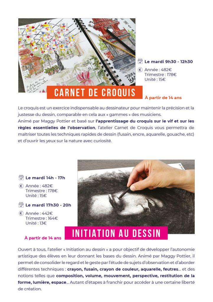 Cours de dessin à Cannes