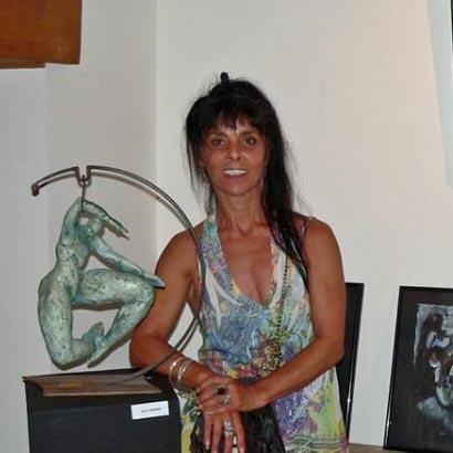 Marie Boquet professeur aux beaux arts de Cannes
