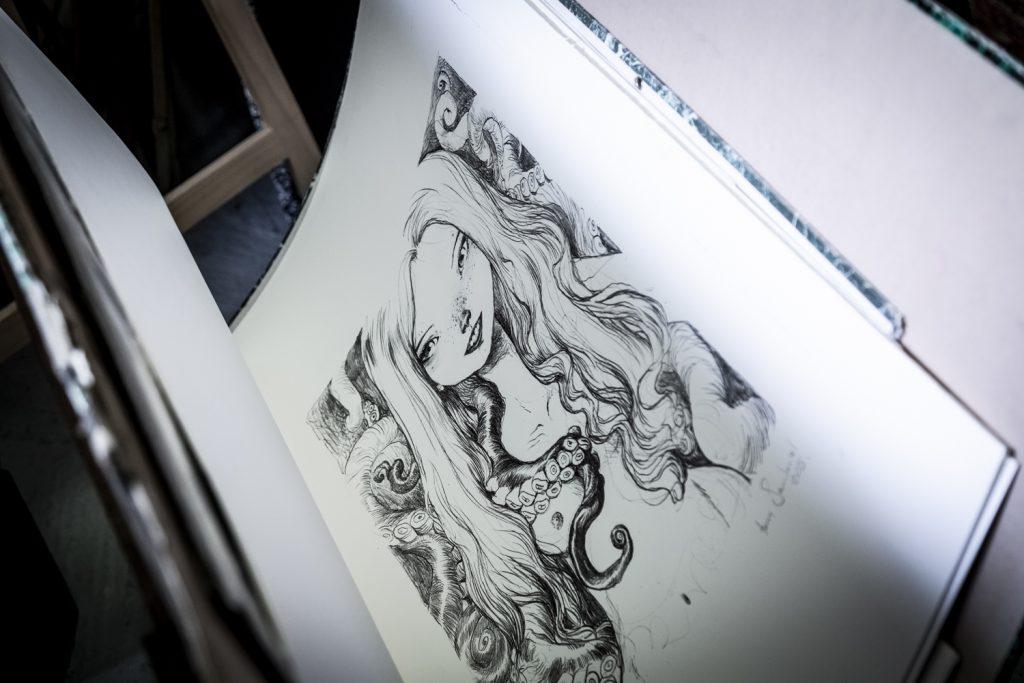 cours de lithographie pour adultes à Cannes